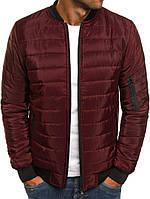 Куртка стеганная, бордо