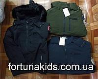 Куртки зимние на меху для мальчиков GLO-STORY 134/140-170 р.р
