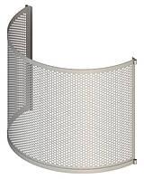 Решето для БЦС  толщина 0.8 мм  d = 1.5 мм размеры 490х990х0.8 мм гнутое