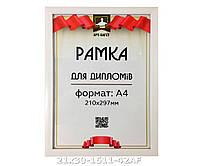 Фоторамка ,пластиковая, А4, 21х30, рамка , для фото, дипломов, сертификатов, грамот, картин, 1611-42