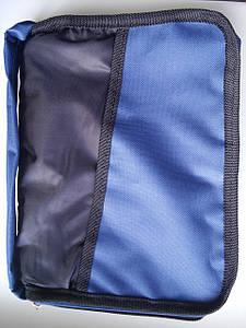 Чехол для Библии (синий) Размер: 18Х25,5 см (077)