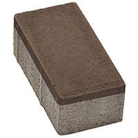 Плитка тротуарная Брусчатка 200x100x60 мм венге N10426413
