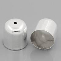 Обниматели для бусин, 12x12 мм