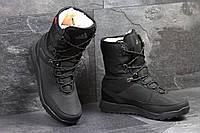 Зимние сапоги Adidas Terrex, чёрные