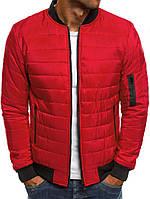 Куртка стеганная, красный