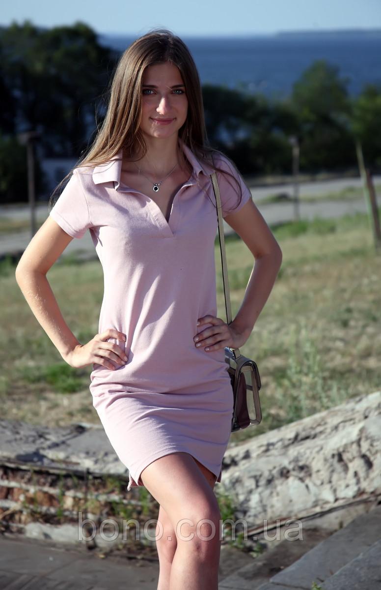 2755200abd1 Bono Трикотажное летнее платье Поло с украинской символикой - Bono -  Магазин Трикотажной Фабрики в Запорожье