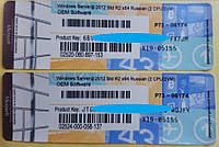 Лицензионные наклейки Windows Server 2012 R2 Standart, RUS, OEM-версия (R73-06174)