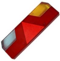 Скло на ліхтар задній універсальний EUROSTOP