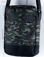Камуфляжная сумка через плечо Staff print, фото 1