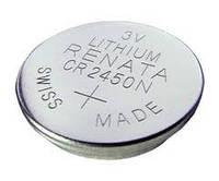 Батарея 3В (литий) CR2450N /Renata/