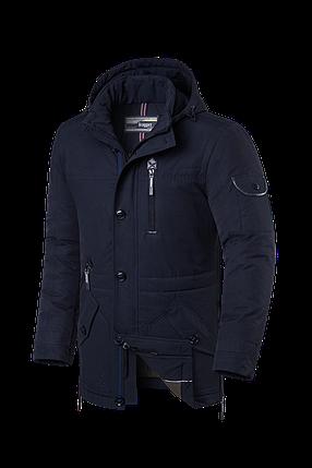 Мужская темно-синяя зимняя куртка Braggart Status (р. 48-60) арт. 17275 S, фото 2