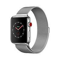 Apple Watch Series 3 GPS+LTE 42mm Stainless Steel Case with Milanese Loop MR1J2 [42mm|Milanese Loop]
