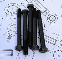 Болт М6 DIN 931 класс прочности 10.9, фото 1