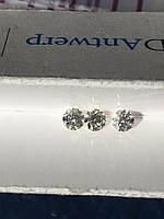 Бриллиант натуральный природный 4,9 мм 0,45 кт VVS-VS/F 740$