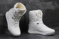 Зимние сапоги Adidas Terrex, белые