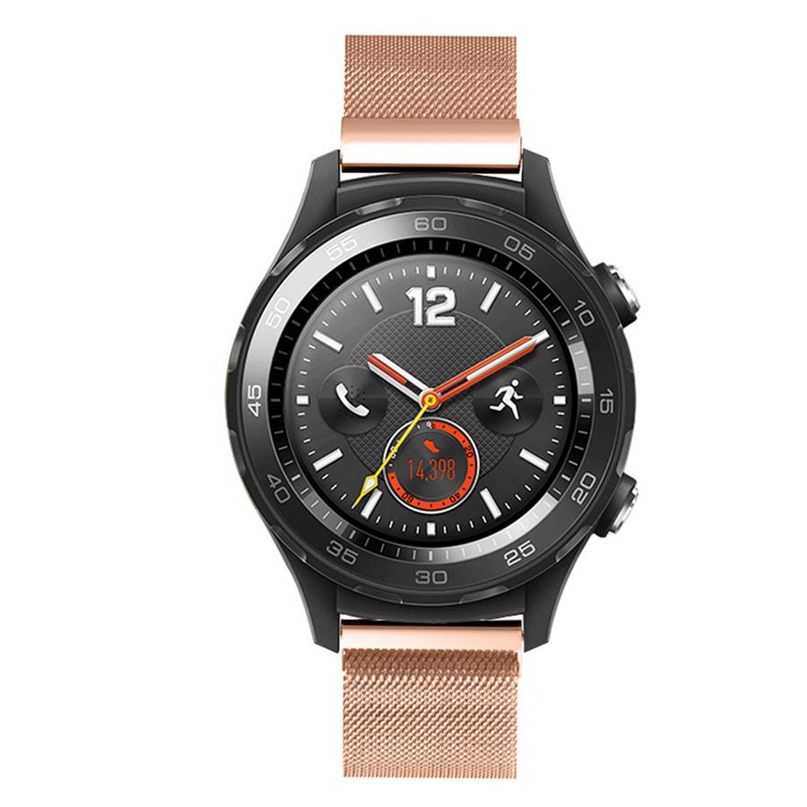 Миланский сетчатый ремешок Primo для часов Huawei Watch 2 - Rose Gold