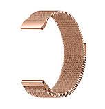 Міланський сітчастий ремінець Primo для годин Huawei Watch 2 - Rose Gold, фото 5