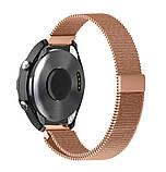Міланський сітчастий ремінець Primo для годин Huawei Watch 2 - Rose Gold, фото 3