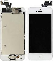 Модуль LCD для iPhone5S + Touch Orig БЕЛЫЙ