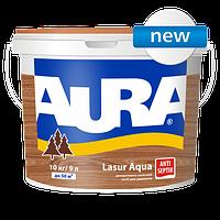 Декоративно-захисний засіб для деревини Aura Lasur Aqua 0.75l