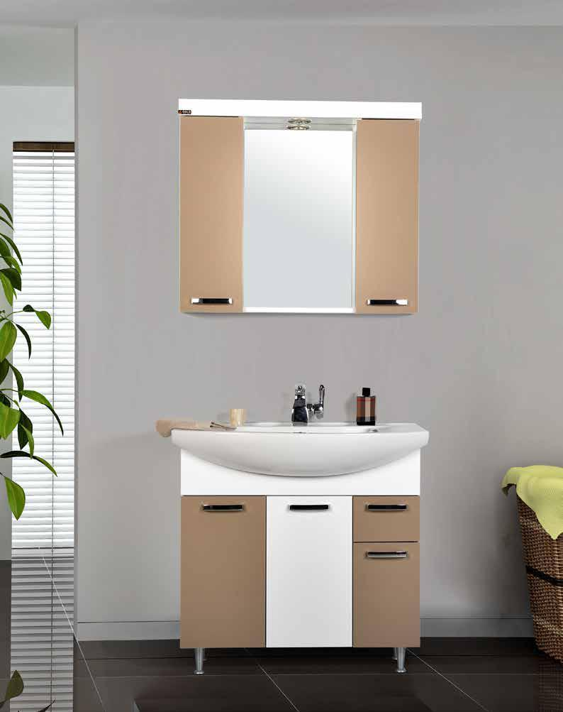 "Комплект мебели для ванной GOLD Ban-Yom ""Terra 85"", 850х490х850 мм"