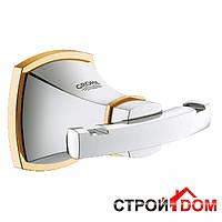 Крючок для банного халата Grohe Grandera 40631IG0 Хром/Золото