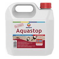 Грунтовка Eskaro Aquastop Prof концентрат 3 л N60301134
