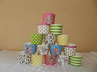 Набор бумажных форм для выпечки 5,5*6см