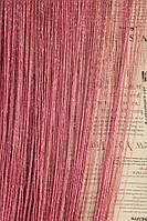 Нитяные шторы,  Кисея в хмельницком  Цвет розы