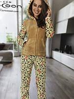 Женский флисовый домашний костюм тм Cocoon