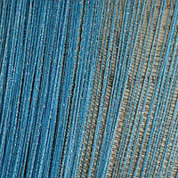 Нитяные шторы,  шторы-нити в хмельницком  Голубой