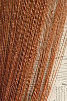 Нитяные шторы,  Кисея в хмельницком  Светлый коричневый, фото 1