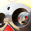 Удлинитель сетевой на катушке с выключателем, переноска, 3GX2.5mm, 4 розетки, фото 4