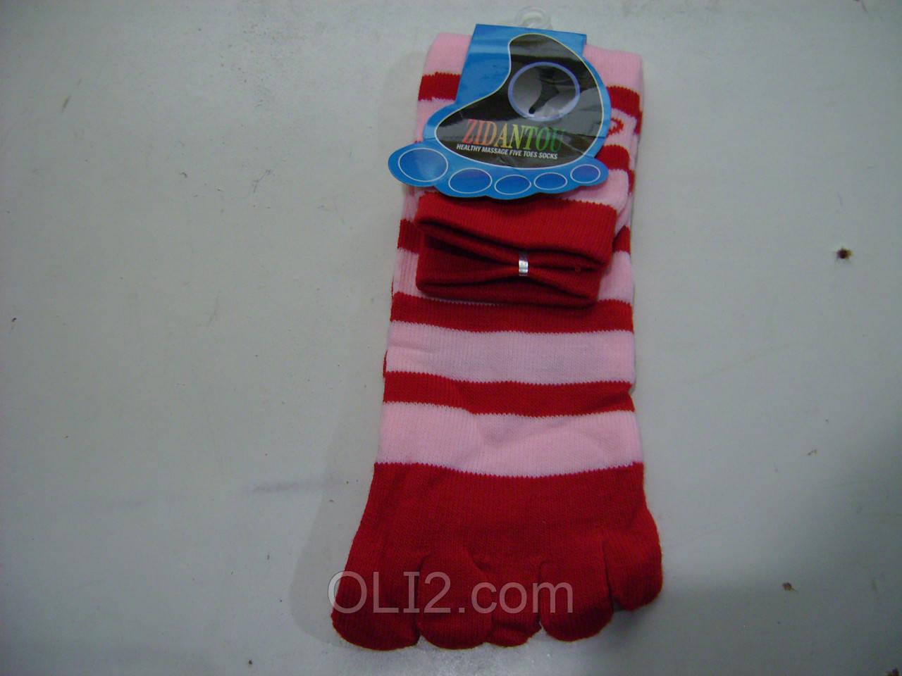 Женские носки с пальчиками носочки с пальцами