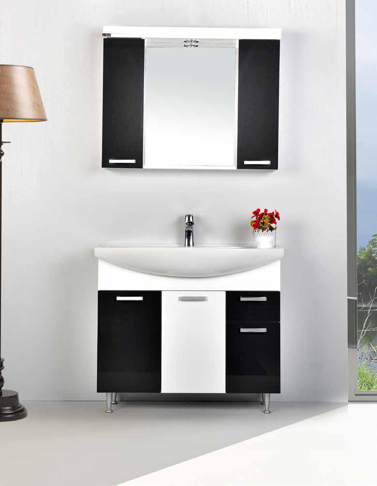 "Комплект мебели для ванной GOLD Ban-Yom ""Terra 95"", 950х490х850 мм"
