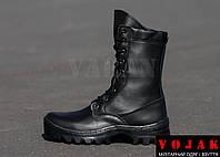 M.205 Black Winter. Ботинки с высокими берцами утепленные шерстяным мехом.