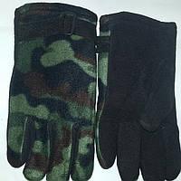 Перчатки флисовые камуфляж