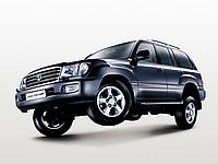 Авточехлы Toyota Land Cruiser 100 1998-07 EMC Elegant