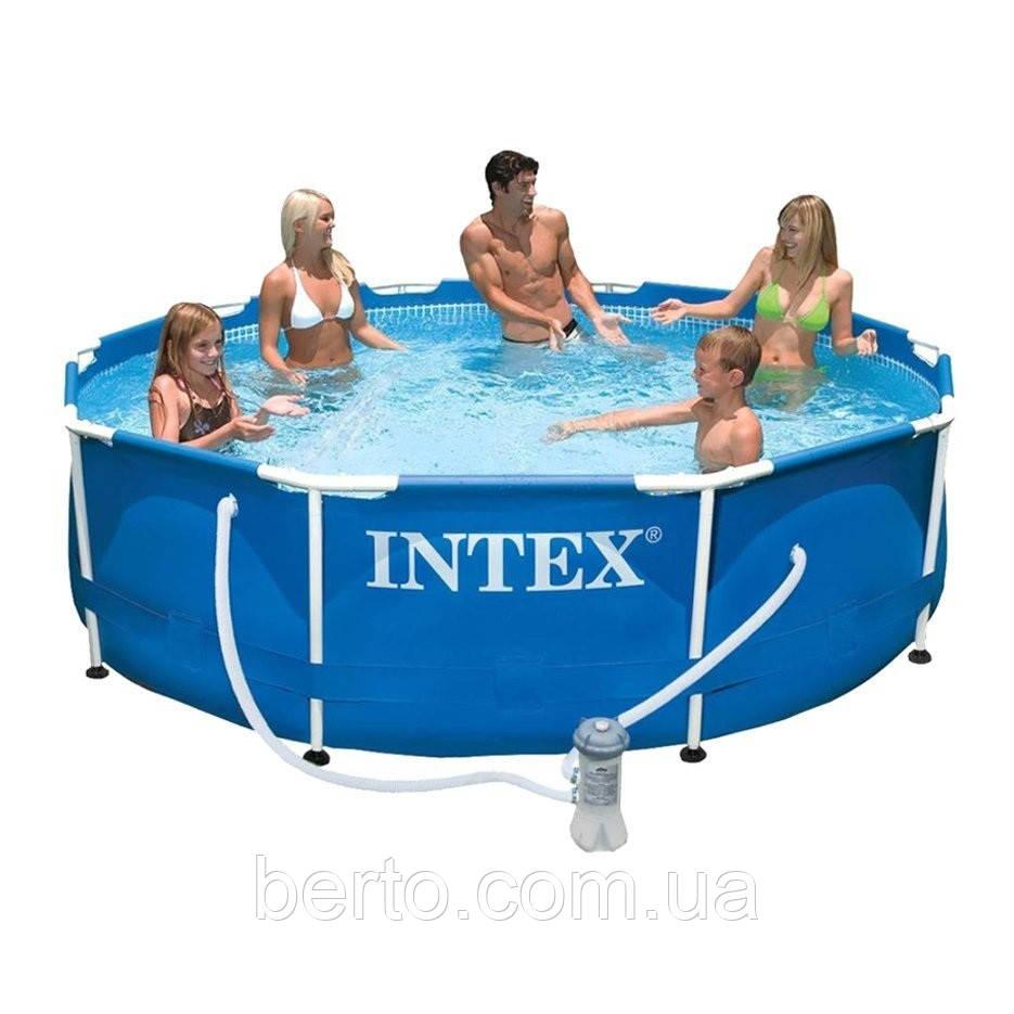 Каркасный бассейн Intex 28202  305 х 76 см.