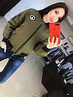 Осіння жіноча куртка, фото 1