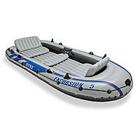Intex 68325 Excursion 5 Set  надувная лодка