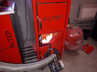 Монтаж котельной на базе пеллетного котла Altep Duo Uni Pellet KT-2EPG 21 кВт. 3