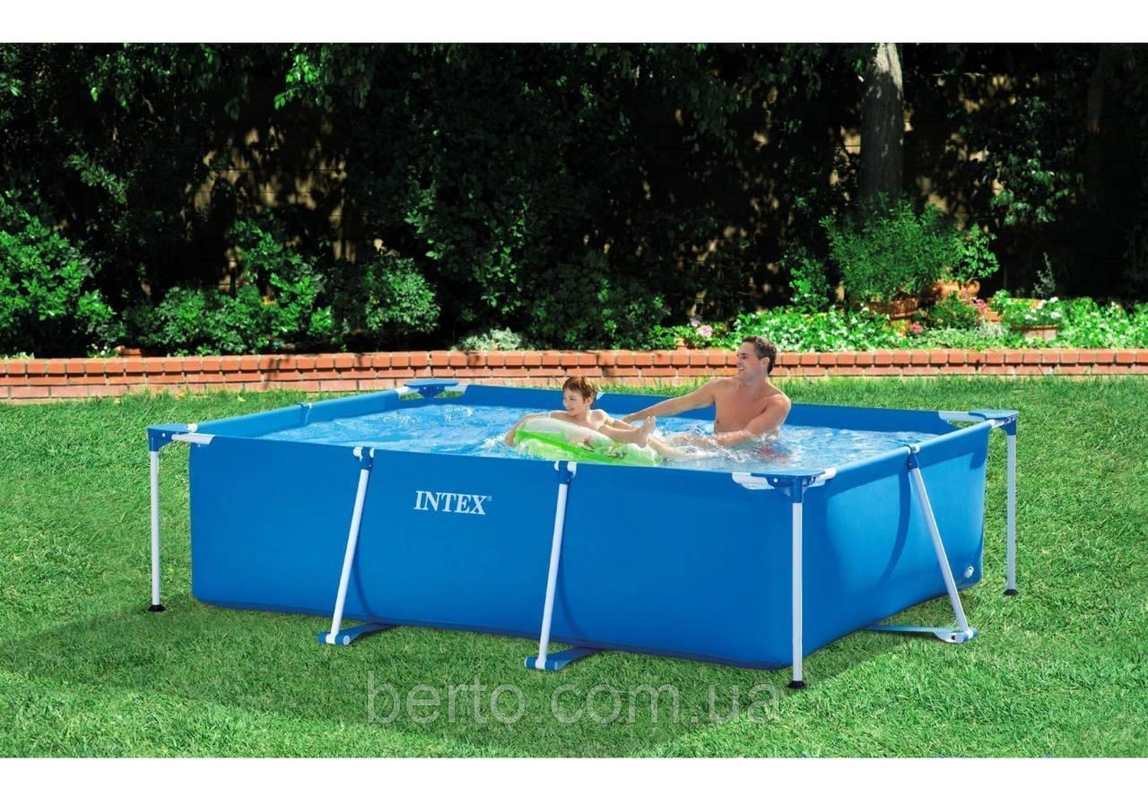 Intex 28272 каркасный бассейн Small Frame 300 х 200 х 75 см.