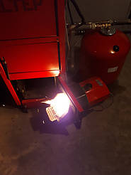 Монтаж котельной на базе пеллетного котла Altep Duo Uni Pellet KT-2EPG 21 кВт. 4