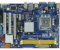 Плата S775 ASRock G31M-GS понимает ЛЮБЫЕ 2-4 ЯДРА ПРОЦЫ INTEL Core2QUAD, Core2DUO, XEON 775 FSB 1333 сГАРАНТ