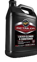 Мeguiar's D180 Detailer Leather Cleaner and Conditioner Очиститель и кондиционер для кожи, 3,78 л.