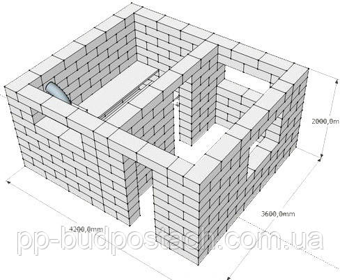 Газосиликатные блоки  для возведения стен