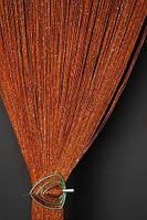 Декор штори-нитки