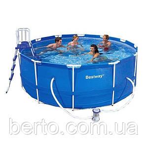 Каркасный бассейн bestway 56420 366 х 122 см.