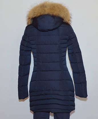 Куртка женская зимняя FINEBABYCAT185|мех енот|, фото 3